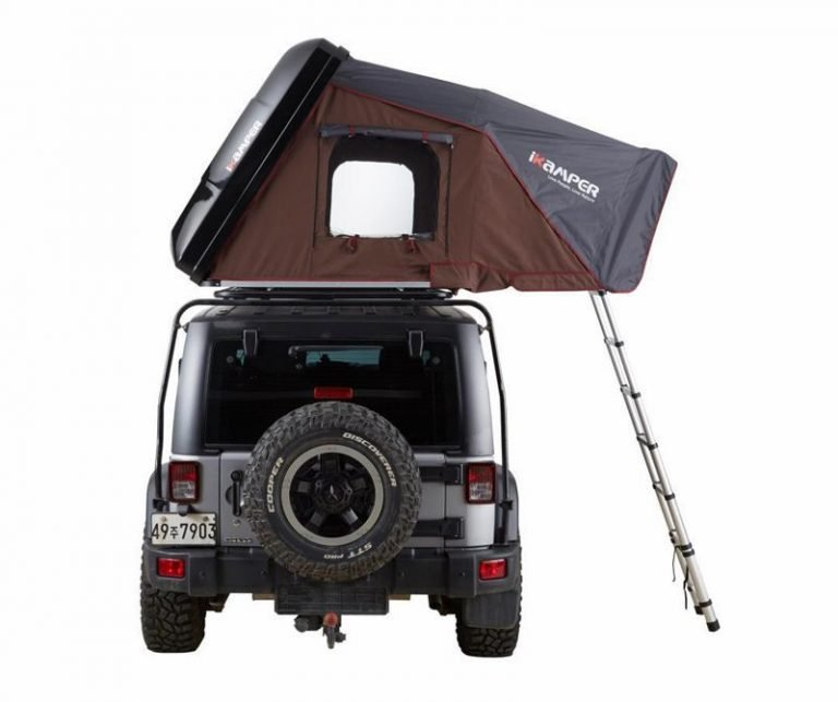 iKamper rooftop tent on jeep