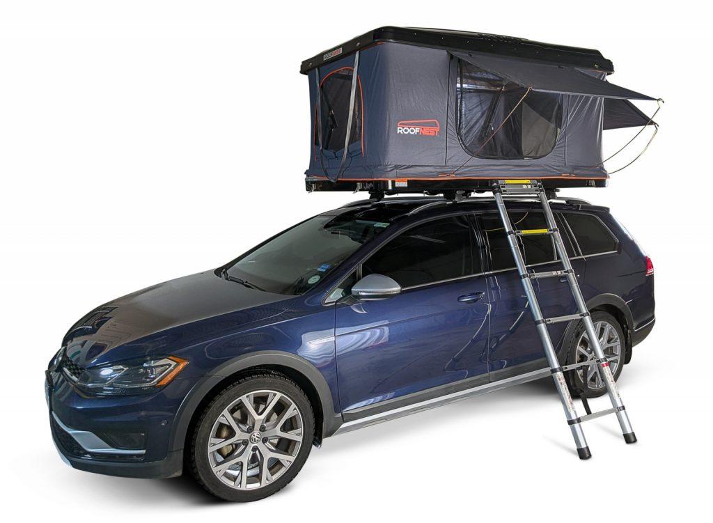 iKamper rooftop tent on jeep